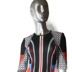 Gorgeous CLOVER CANYON Multicolor Bodycon Dress S